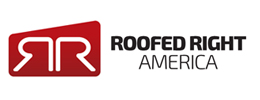 Logo developed by iNET Web for Roofed Right America