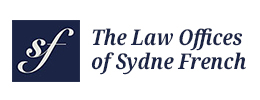 Logo by iNET-Web designer for The Law Offices of Sydne French