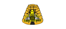 Logo design for The Bee Guy created by Waukesha based iNET Web