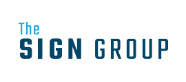The Sign Group logo designed by iNET