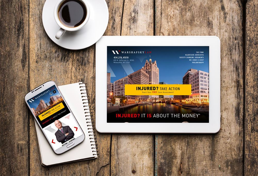 Mobile-responsive website for Warshafsky Law built by iNET